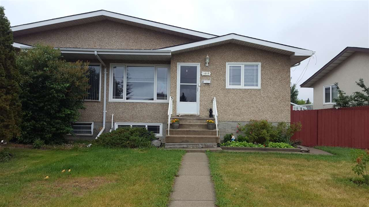 Main Photo: 1019 LAKEWOOD Road N in Edmonton: Zone 29 House Half Duplex for sale : MLS®# E4116074