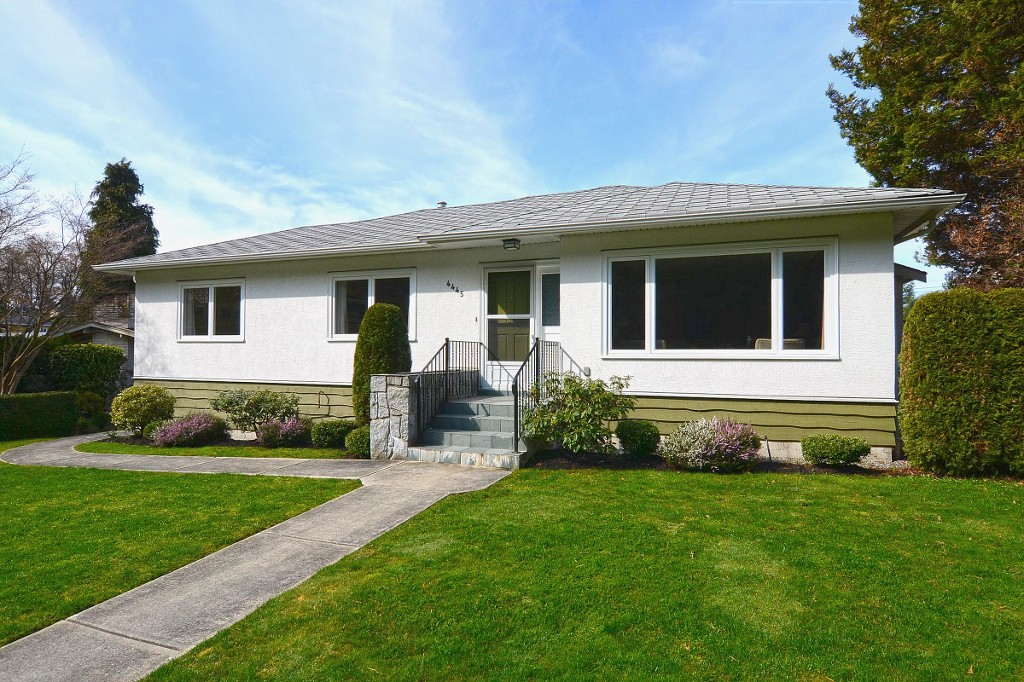 Main Photo: 4445 WALLACE Street in Vancouver: Dunbar House for sale (Vancouver West)  : MLS®# V1055344