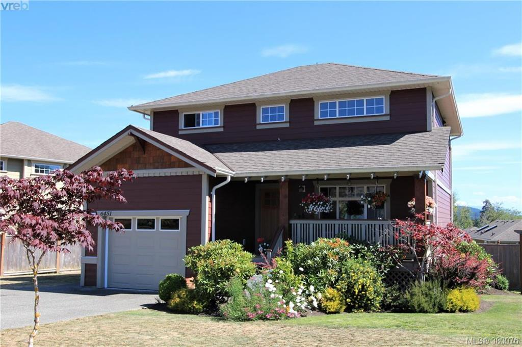 Main Photo: 6451 Willowpark Way in SOOKE: Sk Sunriver Single Family Detached for sale (Sooke)  : MLS® # 380976