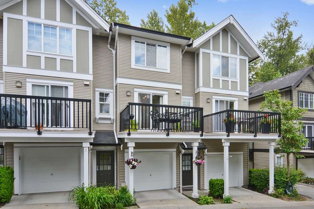 "Main Photo: 75 20176 68 Avenue in Langley: Willoughby Heights Townhouse for sale in ""STEEPLECHASE"" : MLS®# R2274032"