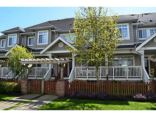 "Main Photo: 12 6852 193RD Street in Surrey: Clayton Townhouse for sale in ""INDIGO"" (Cloverdale)  : MLS®# F1436586"
