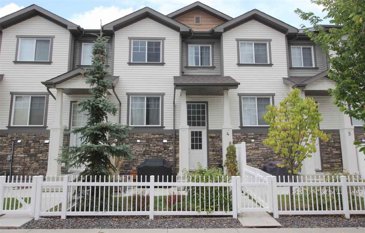 Main Photo: 4 4825 TERWILLEGAR Common in Edmonton: Zone 14 Townhouse for sale : MLS®# E4103223