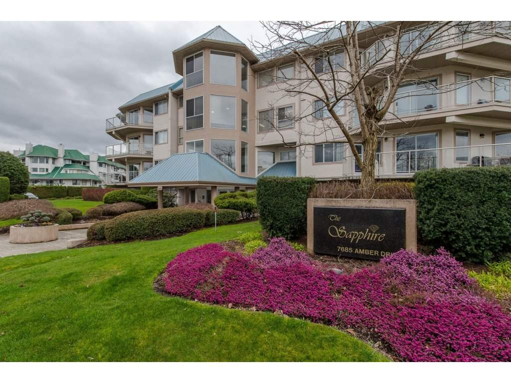 "Main Photo: 308 7685 AMBER Drive in Sardis: Sardis West Vedder Rd Condo for sale in ""The Sapphire"" : MLS®# R2251869"