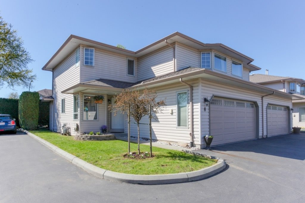 Main Photo: 8 12268 189A STREET in Pitt Meadows: Central Meadows Townhouse for sale : MLS® # R2158796