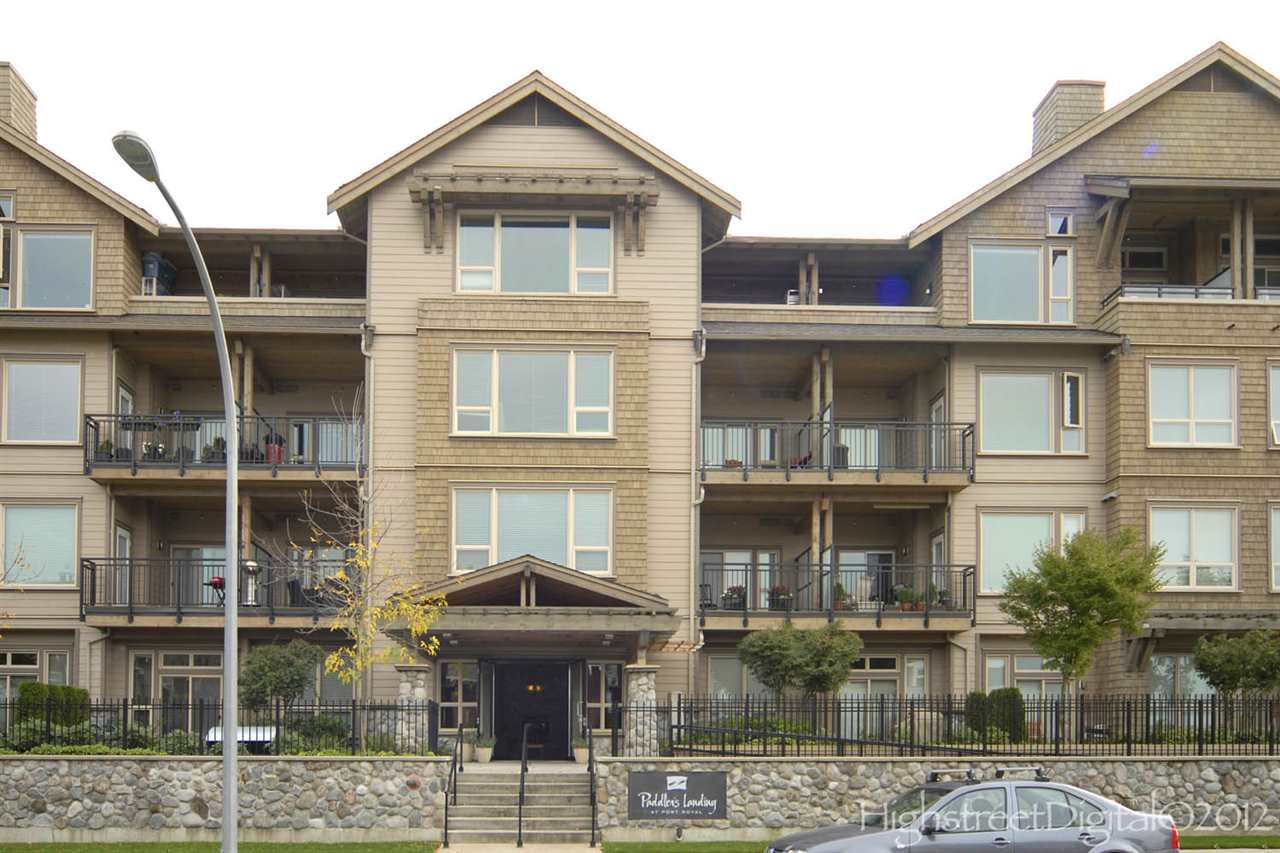 "Main Photo: 309 250 SALTER Street in New Westminster: Queensborough Condo for sale in ""Paddlers Landing"" : MLS®# R2244430"