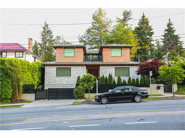 "Main Photo: 4684 W 4TH Avenue in Vancouver: Point Grey House for sale in ""POINT GREY"" (Vancouver West)  : MLS®# V1126424"