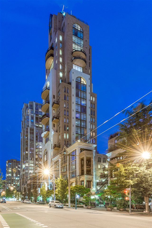 "Main Photo: 602 1280 RICHARDS Street in Vancouver: Yaletown Condo for sale in ""GRACE"" (Vancouver West)  : MLS® # R2079122"