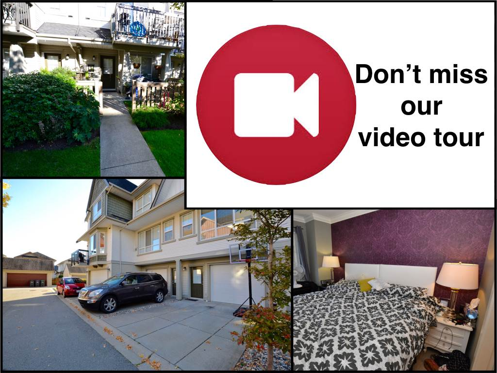 "Main Photo: 73 7155 189 Street in Surrey: Clayton Townhouse for sale in ""Bacarra"" (Cloverdale)  : MLS® # R2112516"