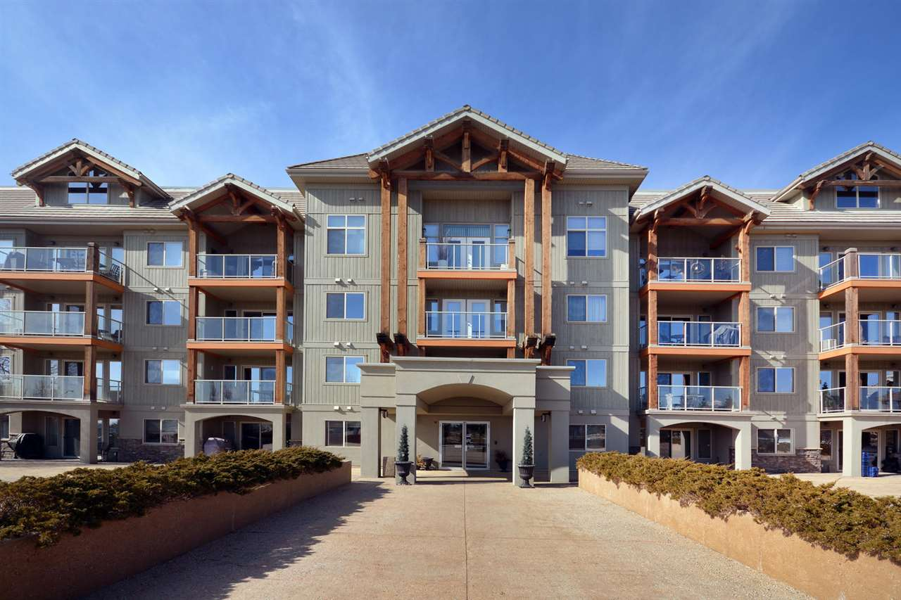 Main Photo: #325 278 SUDER GREENS Drive in Edmonton: Zone 58 Condo for sale : MLS® # E4056983