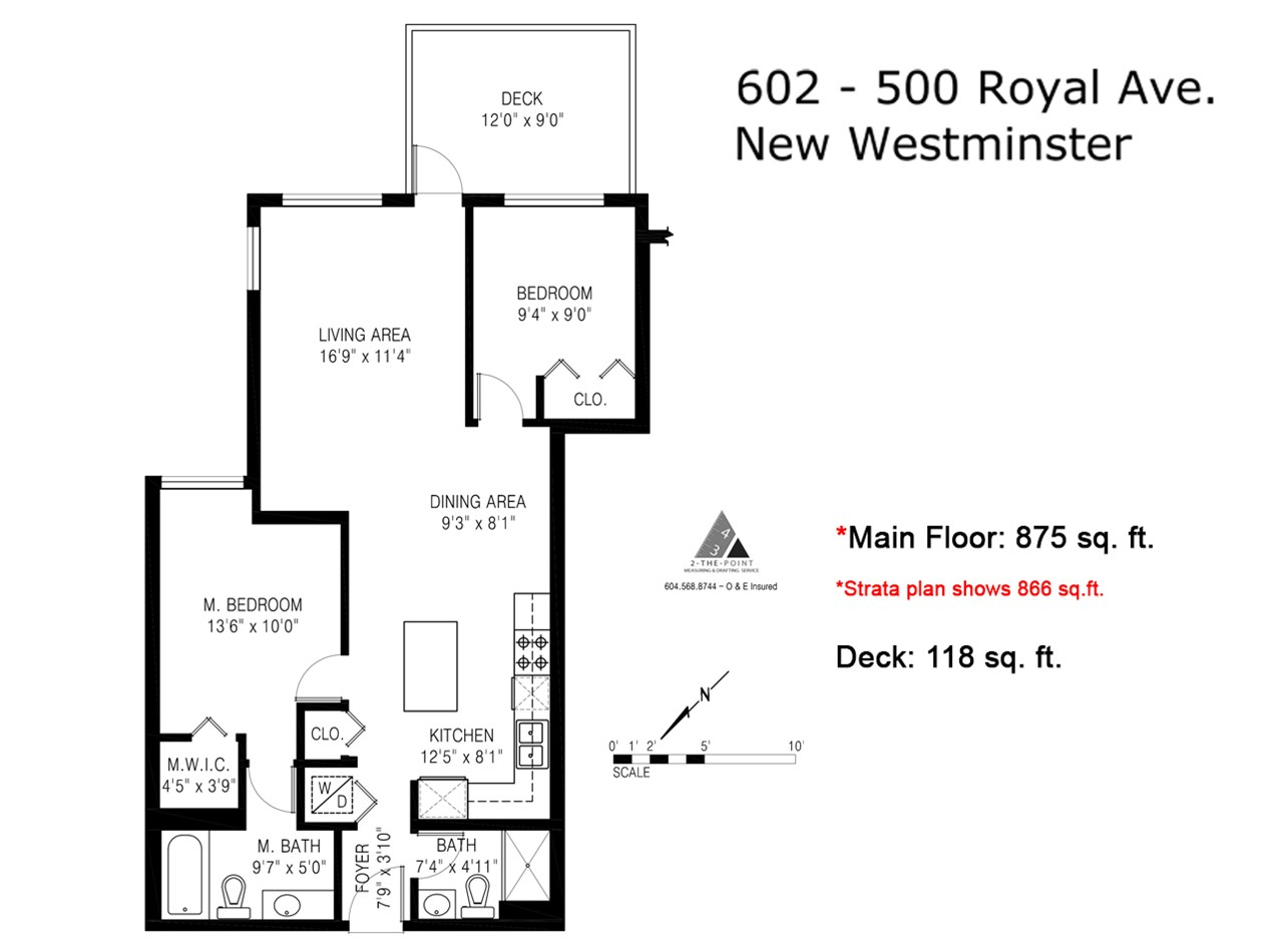 "Photo 19: 602 500 ROYAL Avenue in New Westminster: Downtown NW Condo for sale in ""Dominion"" : MLS® # R2169083"