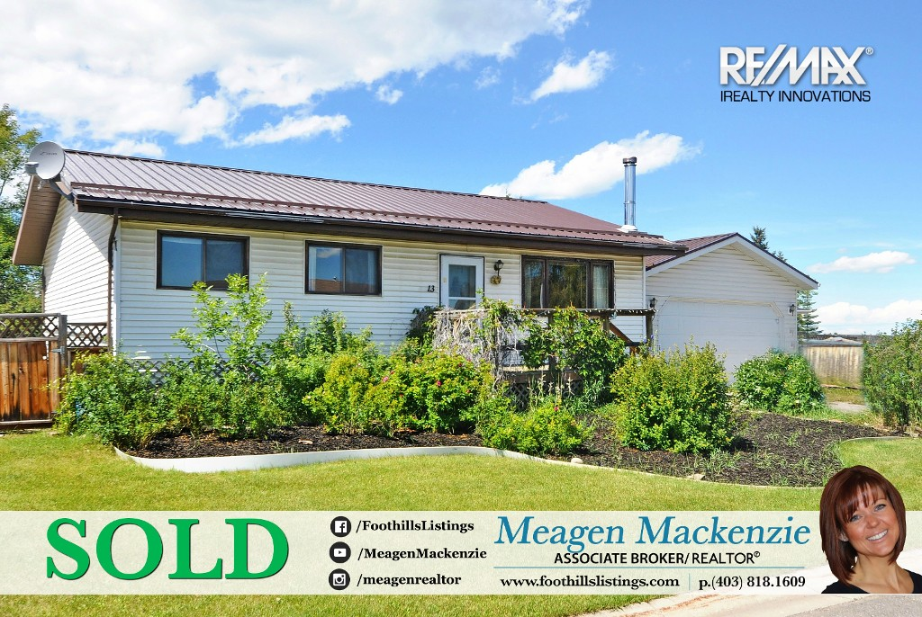 Another SOLD property in Black Diamond, Alberta  Okotoks Real Estate Black Diamond Real Estate