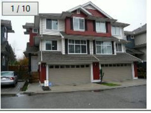 "Main Photo: 45 6956 193RD Street in Surrey: Clayton Townhouse for sale in """"EDGE"""" (Cloverdale)  : MLS®# F1413146"