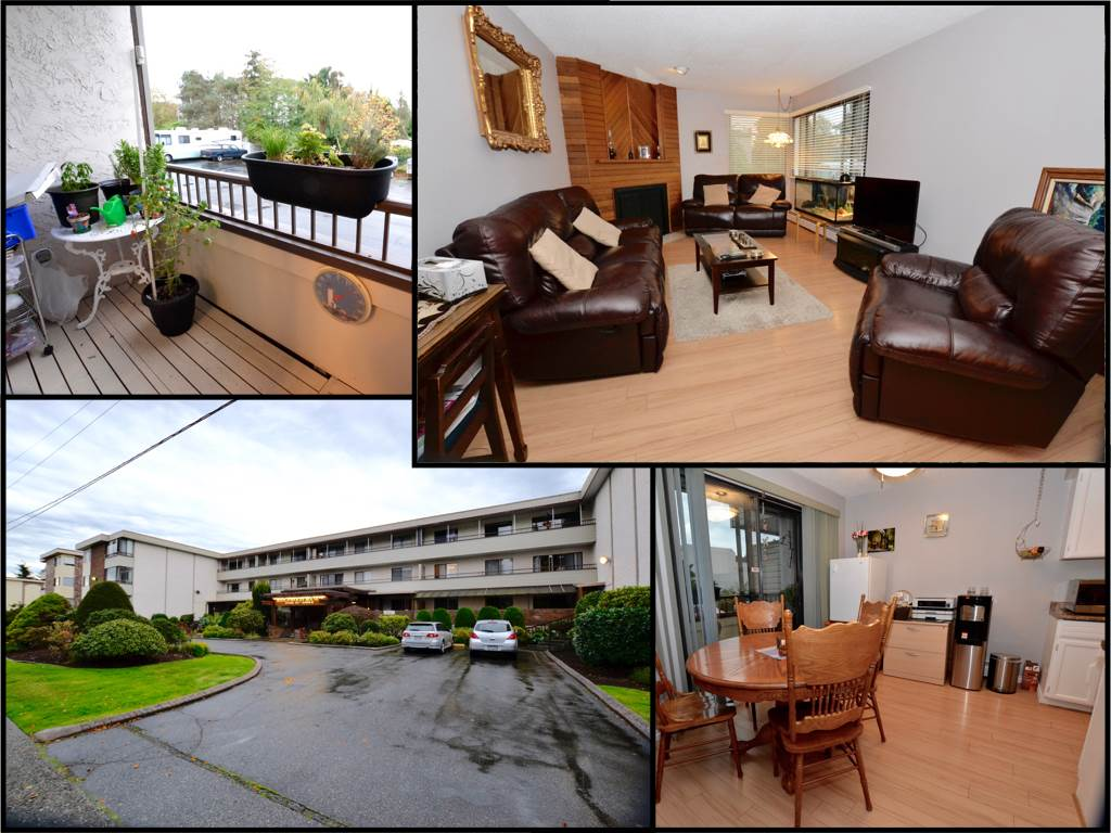 "Main Photo: 110 20420 54 Avenue in Langley: Langley City Condo for sale in ""Ridgewood Manor"" : MLS®# R2112016"