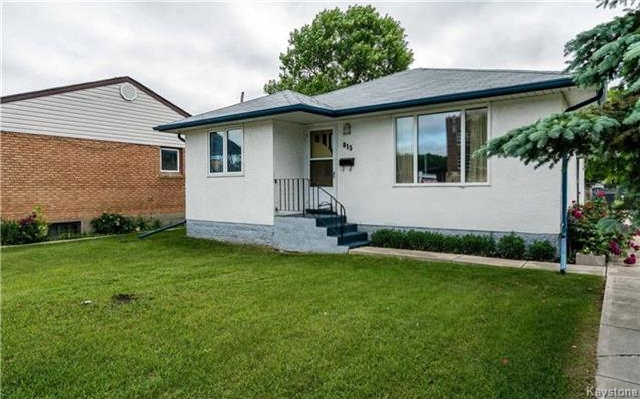 Main Photo: 815 McPhillips Street in Winnipeg: Shaughnessy Heights Residential for sale (4B)  : MLS®# 1716208