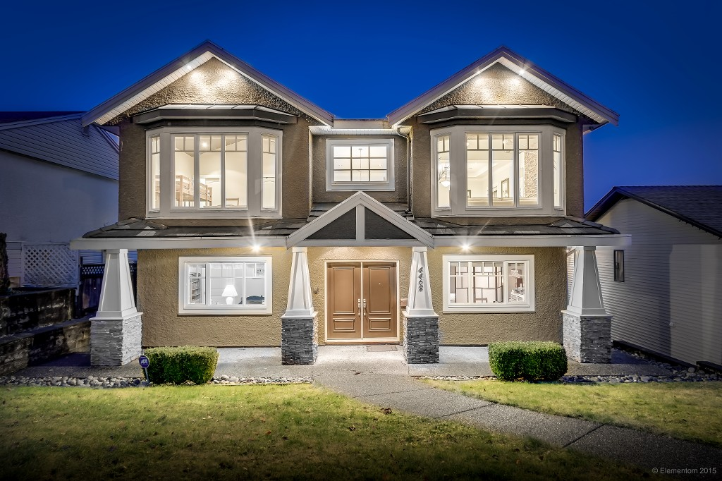 Main Photo: Videos: Burnaby South custom home with detach triple garage!
