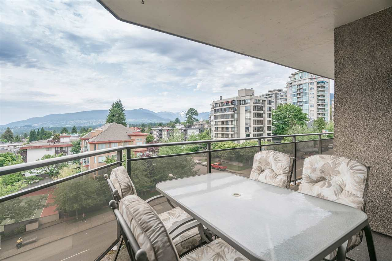 166 sf balcony with room for your patio furniture and BBQ. Great views!