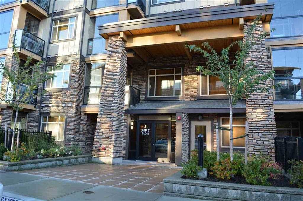 "Main Photo: 416 8067 207 Street in Langley: Willoughby Heights Condo for sale in ""Yorkson Creek - Parkside 1"" : MLS® # R2219772"