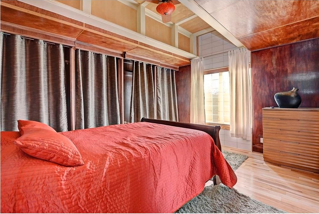 Upstairs you will find a double Master bedroom layout with custom engineered vaulted ceilings