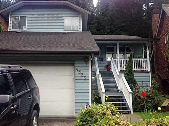 Main Photo: 4535 SUMMERSIDE Lane in North Vancouver: Deep Cove House for sale : MLS® # V1064925