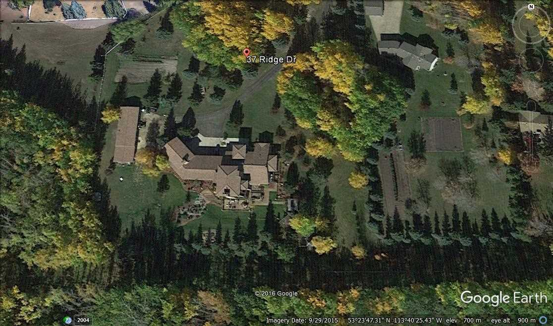 Google Earth: Picture of property