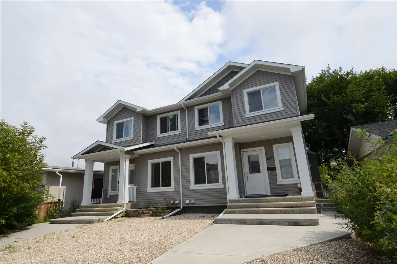 Main Photo: 10223 155 Street in Edmonton: Zone 21 House Half Duplex for sale : MLS® # E4076909