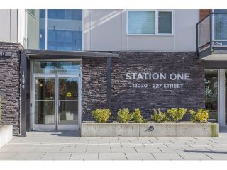 "Main Photo: 208 12070 227 Street in Maple Ridge: East Central Condo for sale in ""Station One"" : MLS® # R2241707"