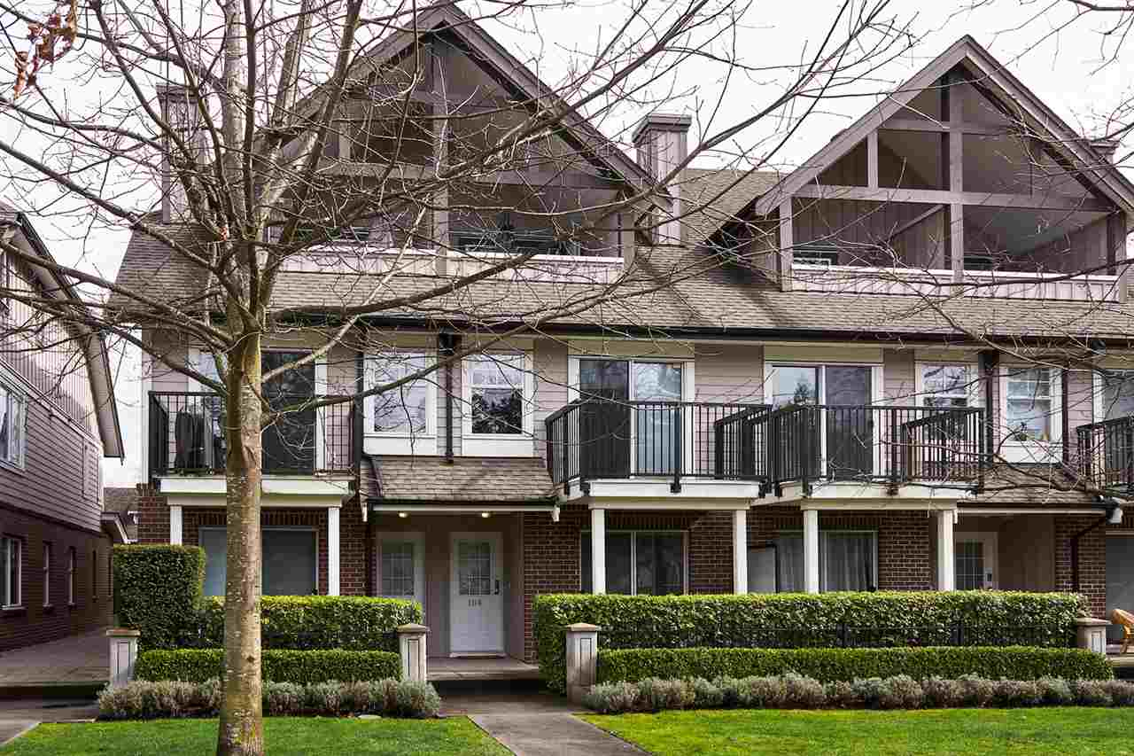 Main Photo: 106 2780 ACADIA Road in Vancouver: University VW Townhouse for sale (Vancouver West)  : MLS® # R2045967