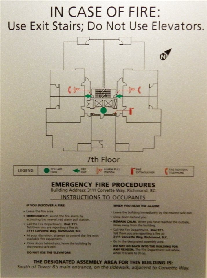 Floor Plan for level 7
