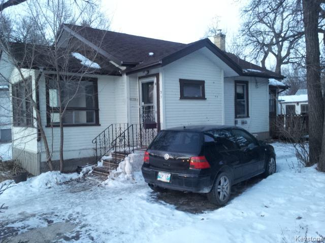Main Photo: 31 St George Road in WINNIPEG: St Vital Residential for sale (South East Winnipeg)  : MLS® # 1500637