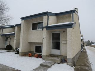 Main Photo: 31 6220 172 Street in Edmonton: Zone 20 Townhouse for sale : MLS® # E4089189