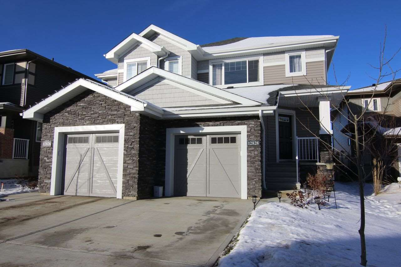 Main Photo: 12828 205 Street NW in Edmonton: Zone 59 House Half Duplex for sale : MLS® # E4089499