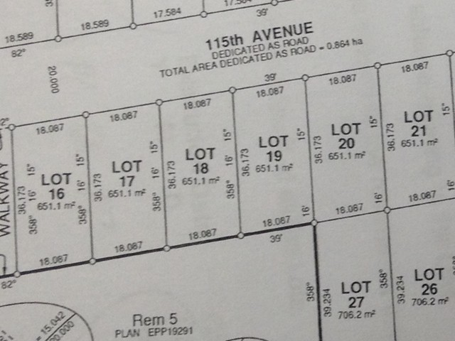 Main Photo: LOT 18 115 Street in Fort St. John: Fort St. John - City NW Home for sale (Fort St. John (Zone 60))  : MLS® # N241500