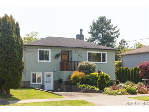 Main Photo: 1439 Brooke Street in VICTORIA: Vi Fairfield West Single Family Detached for sale (Victoria)  : MLS® # 351861