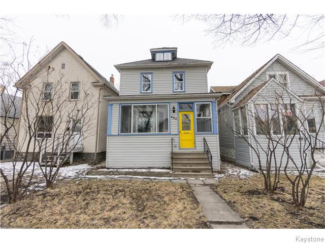 Main Photo: 486 Carlaw Avenue in Winnipeg: Manitoba Other Residential for sale : MLS® # 1607867