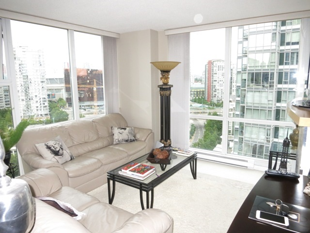 1 bedroom yaletown apartment for sale 3207 1199 Marinaside Crescent dreamliving.ca