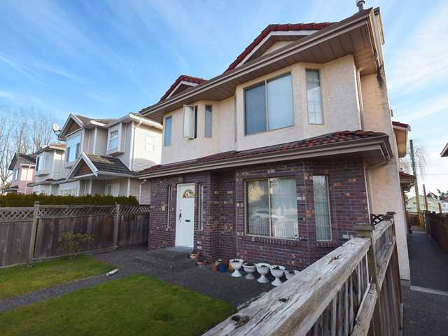 Main Photo: 8492 CARTIER ST in Vancouver: Marpole House 1/2 Duplex for sale (Vancouver West)  : MLS® # V1049017