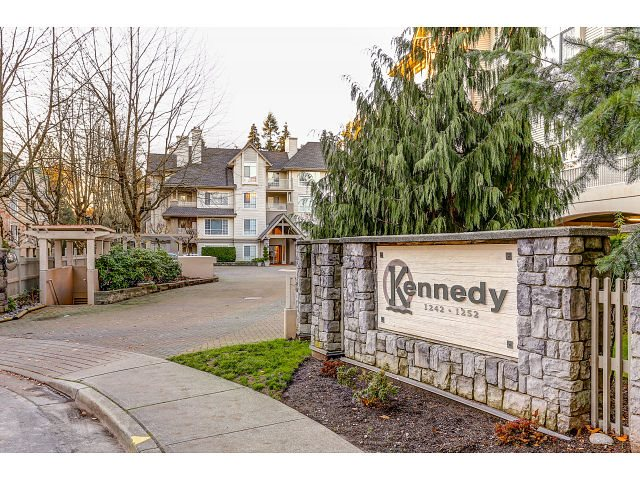 "Main Photo: 206 1242 TOWN CENTRE Boulevard in Coquitlam: Canyon Springs Condo for sale in ""THE KENNEDY"" : MLS®# R2016044"