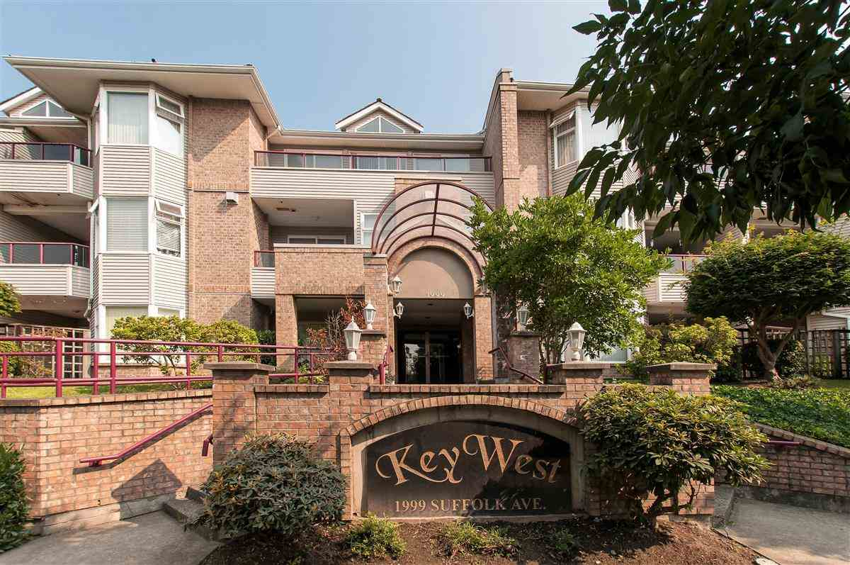 Main Photo: 306 1999 SUFFOLK Avenue in Port Coquitlam: Glenwood PQ Condo for sale : MLS® # R2197270