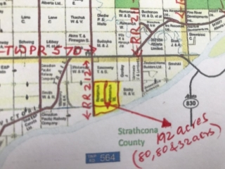 Main Photo: 56503 RR 212: Rural Sturgeon County Rural Land/Vacant Lot for sale : MLS(r) # E4063534