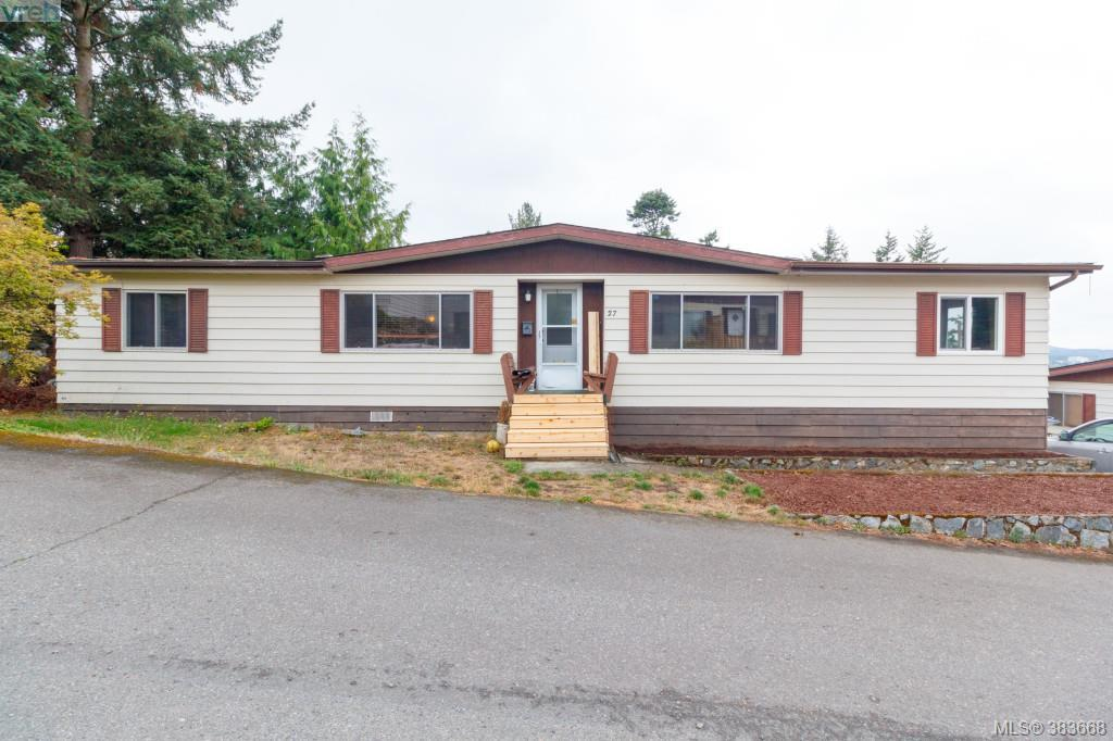 Main Photo: 27 70 Cooper Road in VICTORIA: VR Glentana Manu Double-Wide for sale (View Royal)  : MLS® # 383668