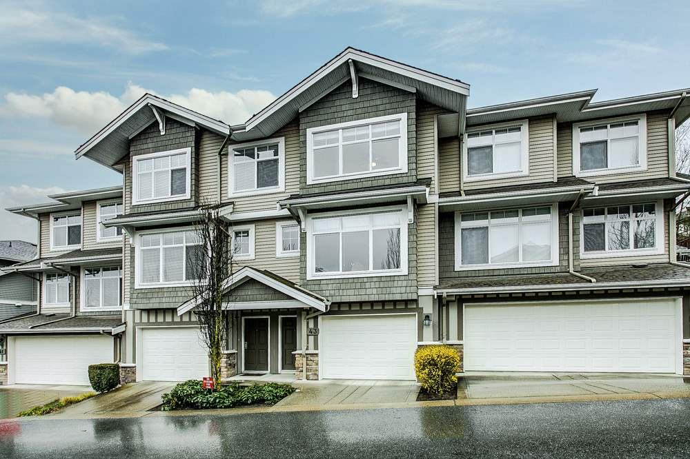 "Main Photo: 43 11282 COTTONWOOD Drive in Maple Ridge: Cottonwood MR Townhouse for sale in ""THE MEADOWS AT VERIGIN'S RIDGE"" : MLS®# R2250734"