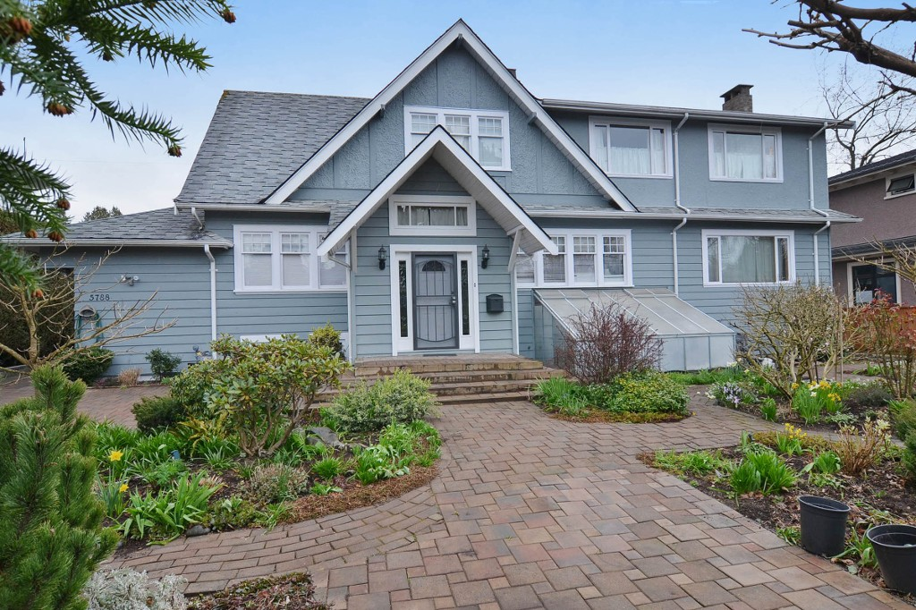 Main Photo: 5788 ANGUS Drive in Vancouver: South Granville House for sale (Vancouver West)  : MLS®# V1109645