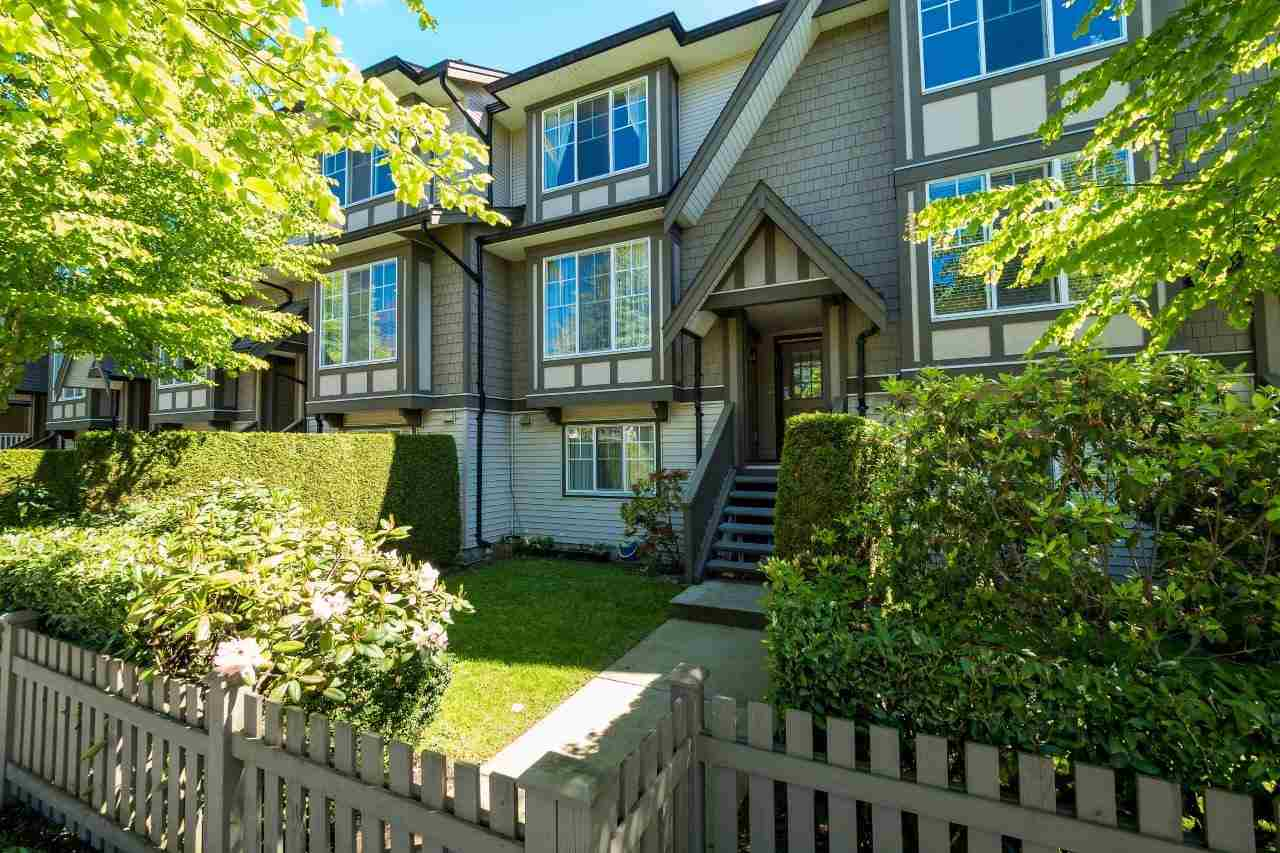 "Main Photo: 41 7233 HEATHER Street in Richmond: McLennan North Townhouse for sale in ""WELLINGTON COURT"" : MLS®# R2163856"