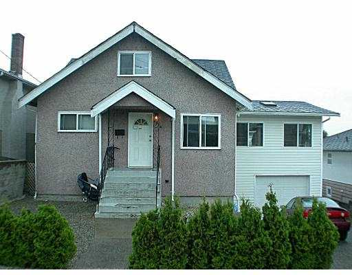 Main Photo: 4014 NAPIER ST in Burnaby: Willingdon Heights House for sale (Burnaby North)  : MLS®# V551170