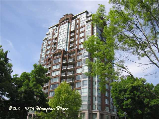 Main Photo: 202 5775 HAMPTON Place in Vancouver: University VW Condo for sale (Vancouver West)  : MLS® # V974523