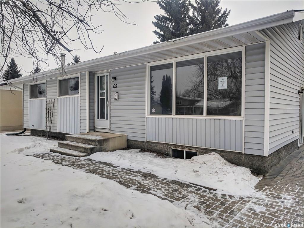 Main Photo: 65 Churchill Drive in Saskatoon: River Heights SA Residential for sale : MLS® # SK714722