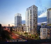"Main Photo: 318 5665 BOUNDARY Road in Vancouver: Collingwood VE Condo for sale in ""WALL CENTER - CENTRAL PARK"" (Vancouver East)  : MLS®# R2138115"