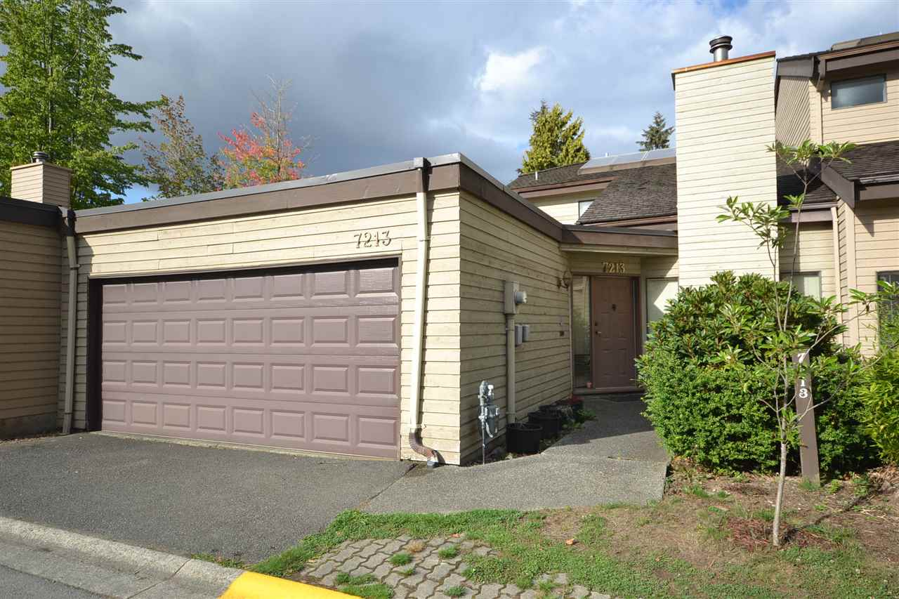 Main Photo: 7213 QUATSINO Drive in Vancouver: Champlain Heights Townhouse for sale (Vancouver East)  : MLS®# R2305258