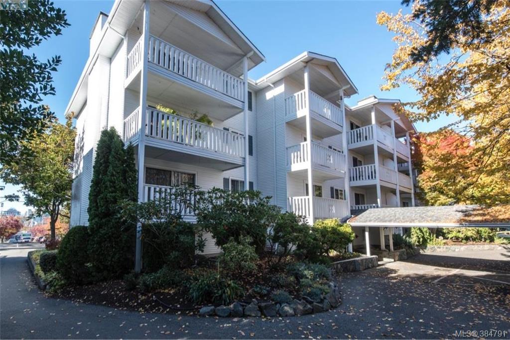 Main Photo: 307 1060 Linden Avenue in VICTORIA: Vi Downtown Condo Apartment for sale (Victoria)  : MLS®# 384791