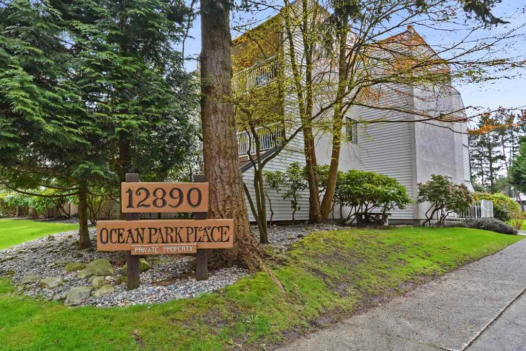 "Main Photo: 217 12890 17TH Avenue in Surrey: Crescent Bch Ocean Pk. Condo for sale in ""Ocean Park Place"" (South Surrey White Rock)  : MLS®# R2255102"